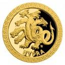 2021 - Zlatá mince 5 NZD Hydra - Bájní tvorové
