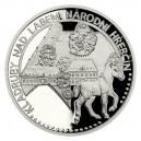 2021 - Platinová mince 50 NZD UNESCO - Hřebčín Kladruby nad Labem