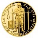 2021 - Zlatá mince 10 NZD Kat mydlář - Staroměstská exekuce