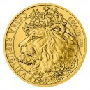 2021 - Zlatá mince 50 NZD Český lev - 1 Oz