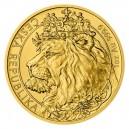 2021 - Zlatá mince 50 NZD Český lev - 1 Oz číslováno