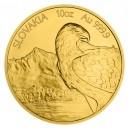 2021 - Zlatá mince 500 NZD Orel - 10 Oz