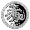 2021 - Stříbrná mince Hydra - Bájní tvorové 2 NZD