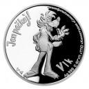 2021 - Stříbrná mince Vlk - Jen počkej 1 NZD