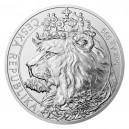 2021 - Stříbrná mince Český lev 10 NZD - 5 Oz
