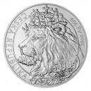2021 - Stříbrná mince Český lev 25 NZD - 10 Oz