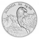 2021 - Stříbrná mince Orel 2 NZD číslováno  - 1 Oz