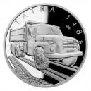2021 - Stříbrná mince Tatra 148 - Na kolech 1 NZD