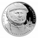 2021 - Stříbrná mince První člověk ve vesmíru - Sluneční soustava 2 NZD