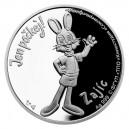 2021 - Stříbrná mince Zajíc - Jen počkej 1 NZD
