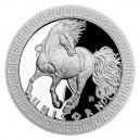 2021 - Stříbrná mince Jednorožec - Bájní tvorové 2 NZD