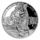 2021 - Stříbrná mince Excalibur a Jezerní paní - Legenda o králi Artušovi 1 NZD
