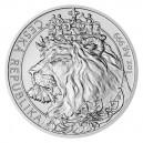 2021 - Stříbrná mince Český lev 2 NZD - 1 Oz