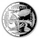 2021 - Stříbrná mince Dobytí Severního pólu - Polárnící 2 NZD