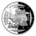 2021 - Stříbrná mince Dobytí Jižního pólu - Polárnící 2 NZD