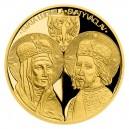 2021 - Zlatá investiční mince 100 NZD Sv. Ludmila a Sv. Václav