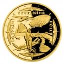 2021 - Zlatá mince 10 NZD Polárníci - Dobytí severního pólu -- Proof