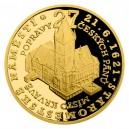 2021 - Zlatá mince 10 NZD Staroměstské náměstí - Staroměstská exekuce