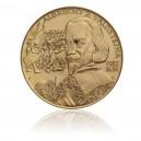 Pamětní mosazná medaile Albrecht z Valdštejna