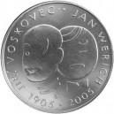 Pamětní stříbrná mince Jan Werich a Jiří Voskovec - Proof