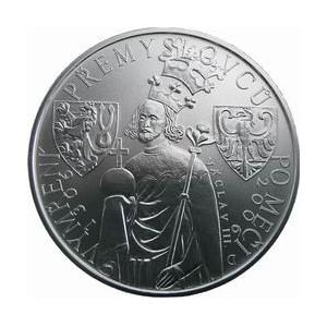 Pamětní stříbrná mince Vymření Přemyslovců po meči - Proof