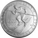 Pamětní stříbrná mince Svaz lyžařů - Proof