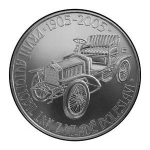 Pamětní stříbrná mince Automobil Mladá Boleslav - Proof