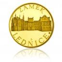 2011 - Zlatá medaile Zámek Lednice, Au 1/4 Oz