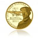 Zlatá medaile První veřejný let Jana Kašpara - Au 1/2 Oz