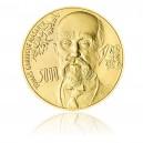 2010 - Zlatá investiční medaile s motivem bankovky 5000,- Kč, Au 1kg