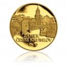 2010 - Zlatá medaile Český Krumlov, Au 1/4 Oz