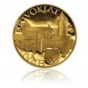 2010 - Zlatá medaile Hrad Křivoklát, Au 1/4 Oz