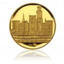 2010 - Zlatá medaile Zámek Hluboká, Au 1/4 Oz