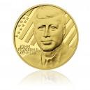2010 - Zlatá medaile John Fitzgerald Kennedy, Au 1/2 Oz