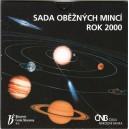 Sada oběžných mincí České republiky 2000 - Sluneční soustava