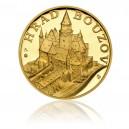 Zlatá medaile Hrad Bouzov - Au 1 Oz