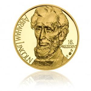 Zlatá medaile Abraham Lincoln - Au 1/2 Oz