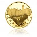 Zlatá medaile Hrad Loket - Au 1 Oz