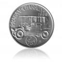 """Stříbrná medaile Praga V. """"Charron"""""""