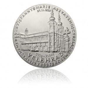 Platinová investiční medaile Katedrála ve Velehradě