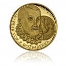 Zlatá medaile Petr Vok z Rožmberka - Au 1/2 Oz