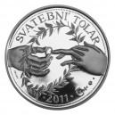 Stříbrný Svatební tolar rok 2011