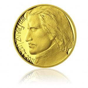 Zlatá medaile Franz Liszt - Au 1/2 Oz
