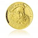 2012 - Zlatá medaile 400. výročí úmrtí Rudolfa II. - 1/2 Oz