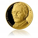 2012 - Zlatá medaile 200. výročí narození K. J. Erbena - AU 1/2 Oz