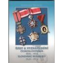 Řády a vyznamenání Československa 1918-1948, Slovenska 1939-1945, Vlastislav Novotný