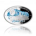 2012 - Mimořádná ražba - Stříbrná medaile 100 let od zkázy Titanicu kolorováno