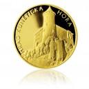 2012 - Zlatá medaile Hrad Kunětická hora - Au 1/4 Oz
