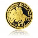 2012 - Zlatá medaile Řád templářů - Au 1/2 Oz