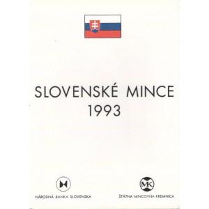 Sada oběžných mincí Slovenské republiky 1993